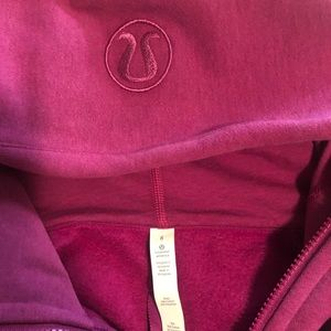 Pink Lululemon scuba hoodie—great condition!